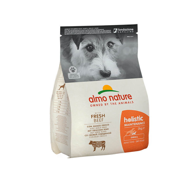 Pienso Almo Nature Holistic Small Dog con Buey y Arroz