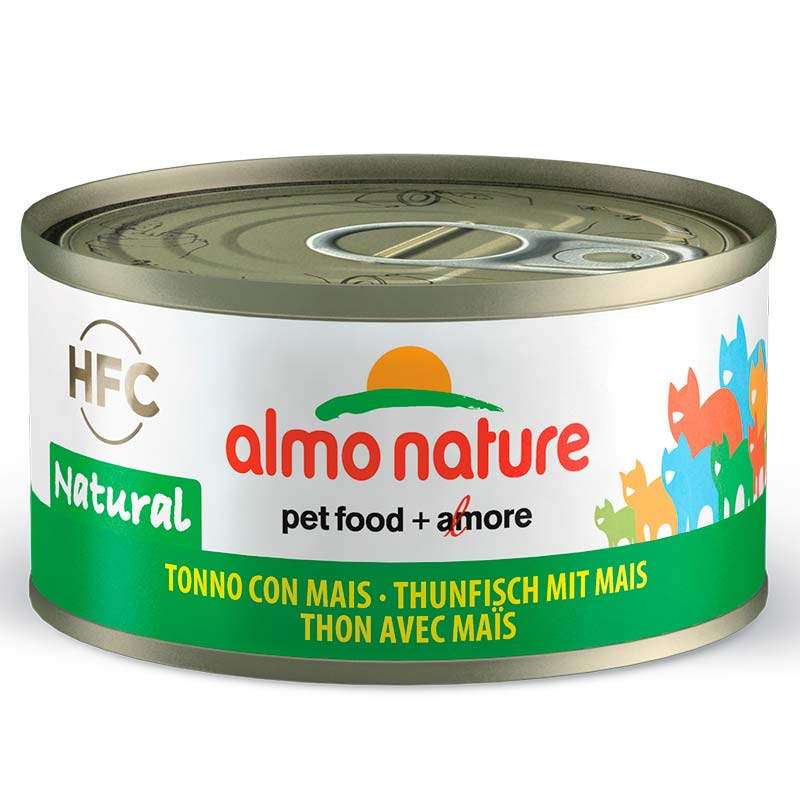 Almo Nature HFC Tuna & Sweet Corn Can for Cat