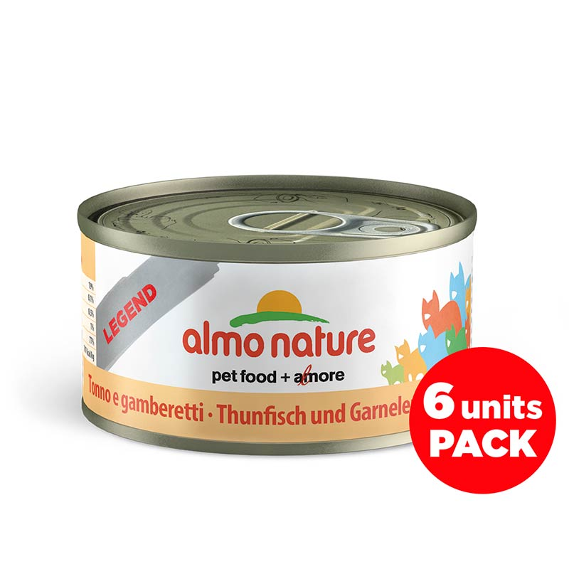 Almo Nature Gato HFC Legend Megapack Atún y Gambas