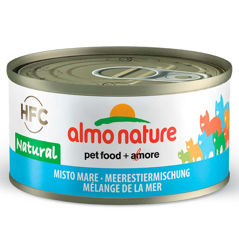 Almo Nature Legend Mixto Mar 70gr. Lata Gatos