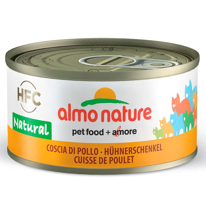 Almo Nature Legend Muslo de Pollo 70gr. Lata Gatos