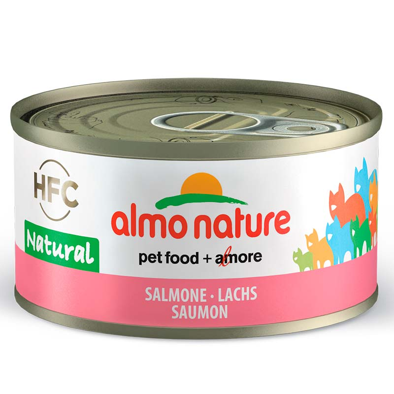 Almo Nature Legend Salmón 70gr. Lata Gatos