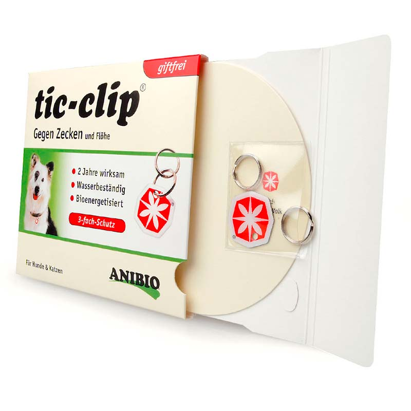 Anibio Tic-Clip Medal Against Ticks and Fleas