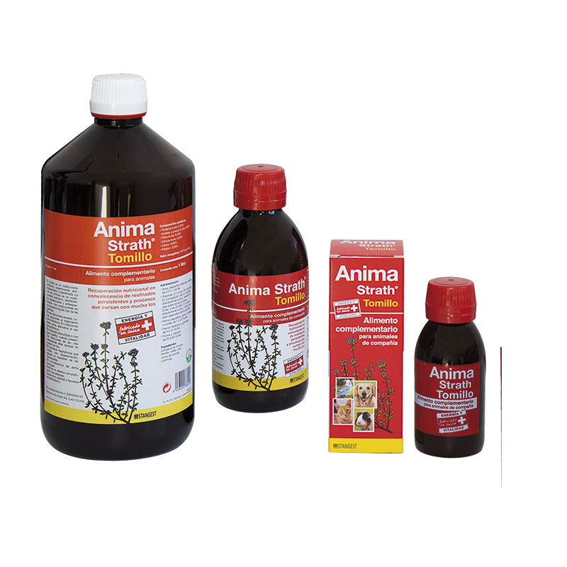 Anima Strath Thyme Antitussive for Dogs, Cats, Rodents and Birds