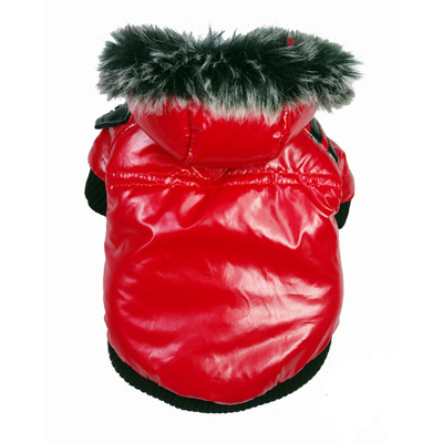 Anorak Coat Russian Red for Dogs