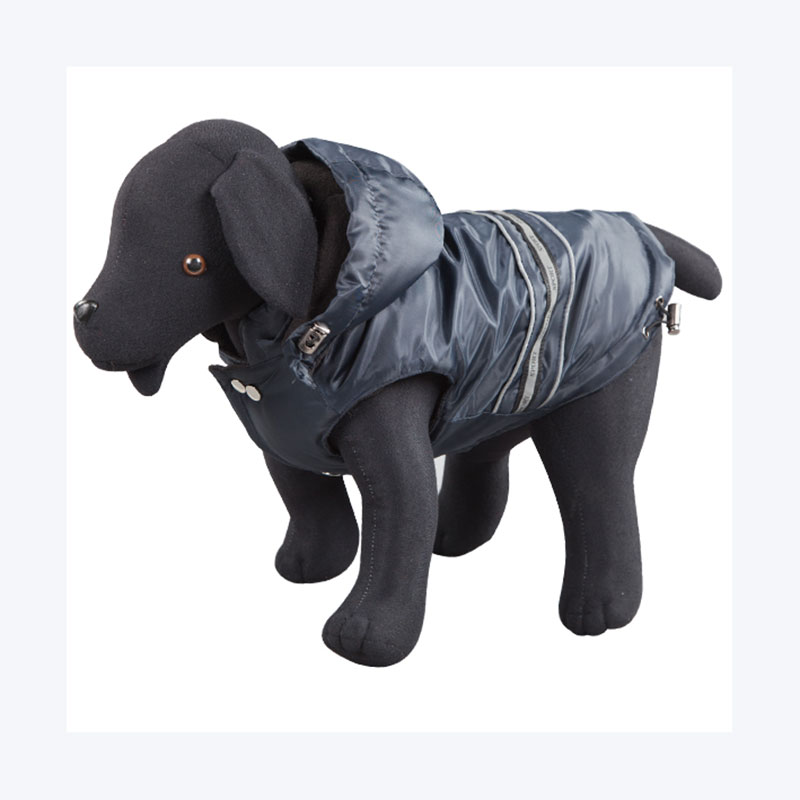 Anorak Impermeable Larry Azul para Perros