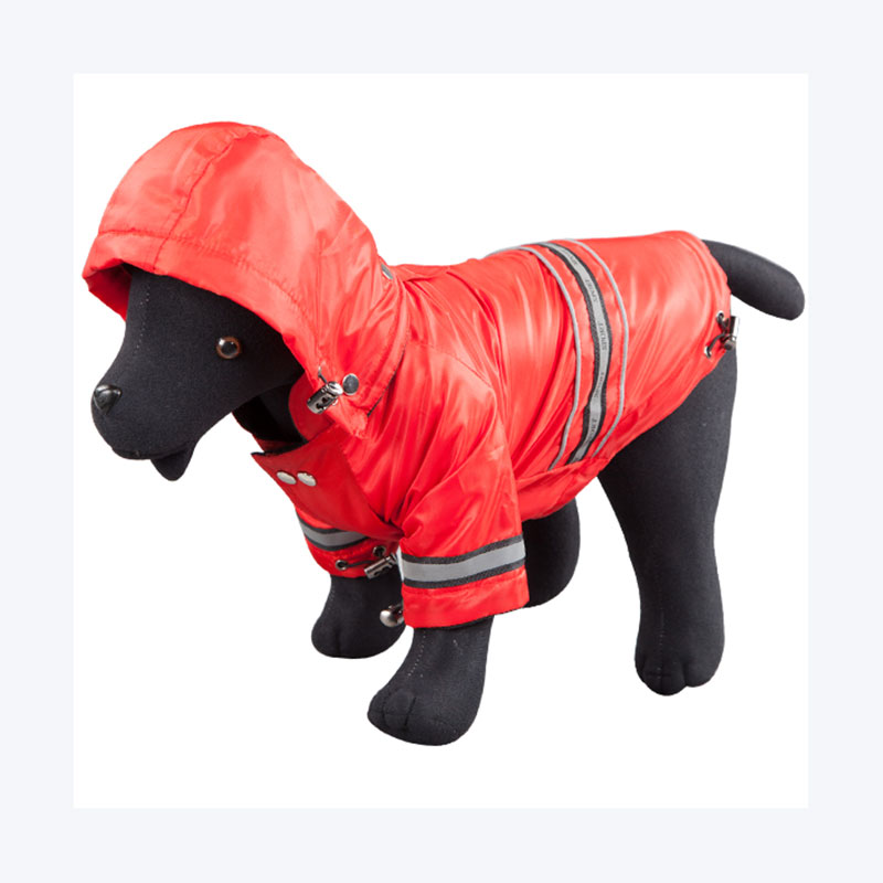 Larry Raincoat Red for Dogs