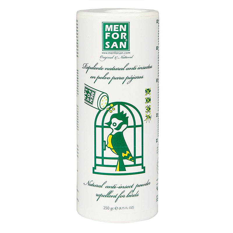 Men for San Repelente Natural Anti Piojos con margosa para aves