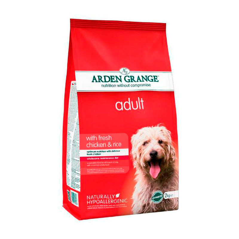 Arden Grange Adult Chicken & Rice Feed for dogs