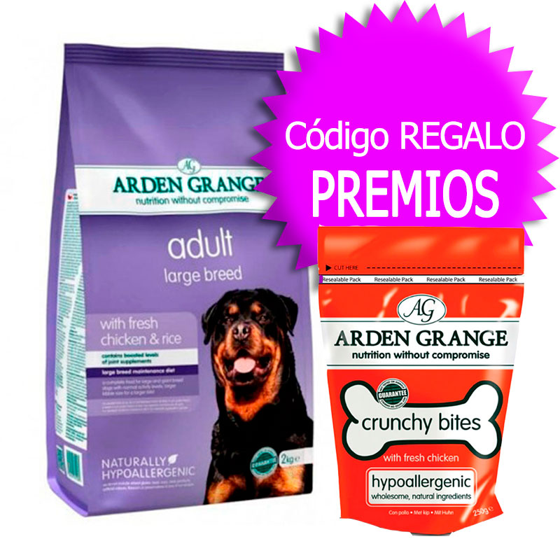 Arden Grange Adult Large Breed+Cupón