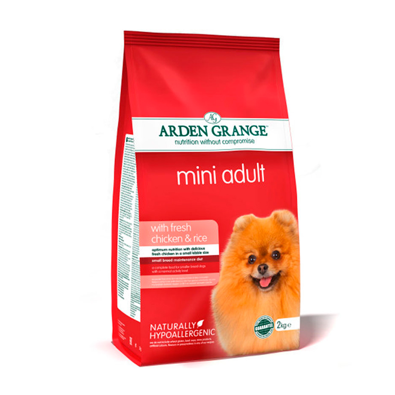 Arden Grange Adult Mini Pollo y Arroz