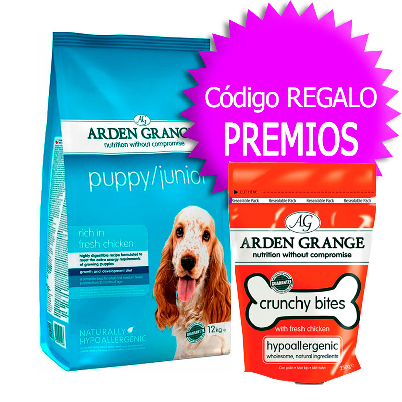 Arden Grange Puppy Junior+Cupón