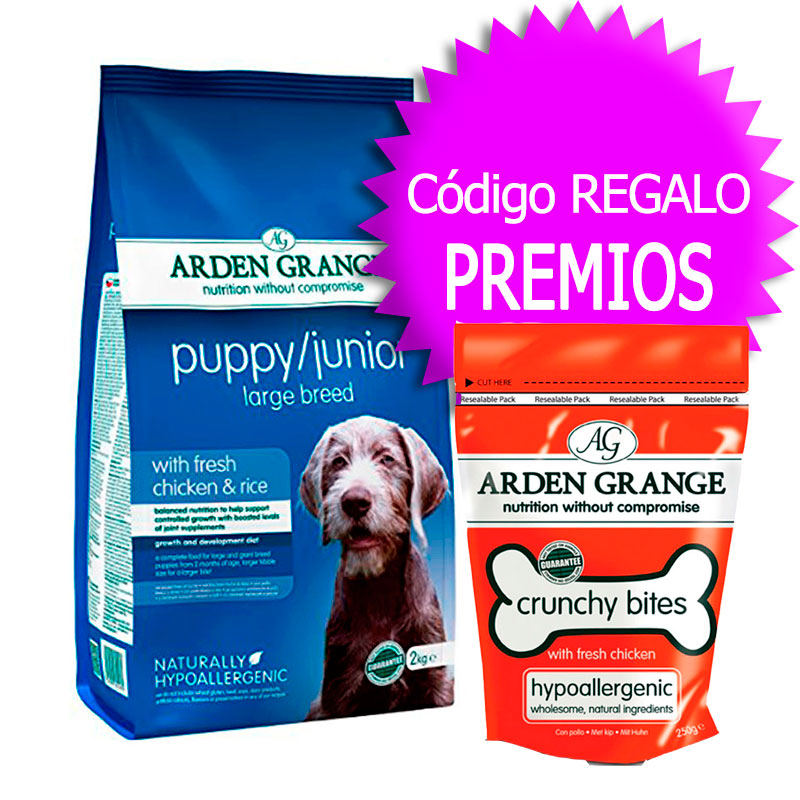 Arden Grange Puppy Junior Large Breed+Cupón
