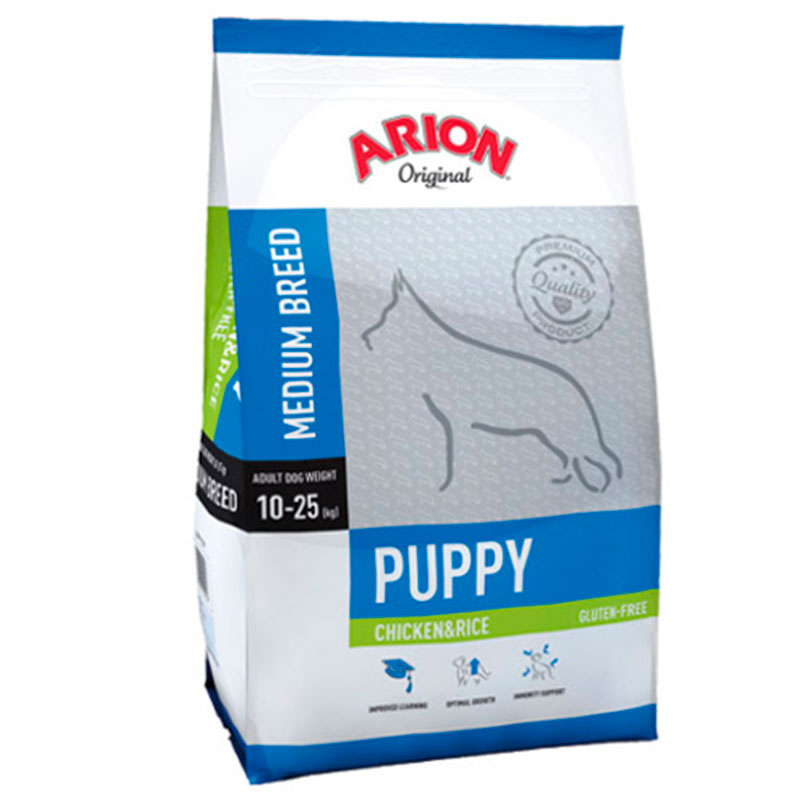 Arion Original Puppy Medium Breed Chicken&rice