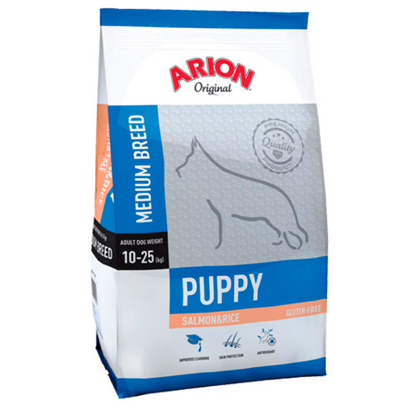 Arion Original Puppy Medium Breed Salmon&rice