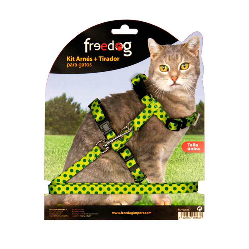 Kit Cat Harness + Leash