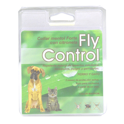 Forte Menthol Collar with Citronella Fly Control