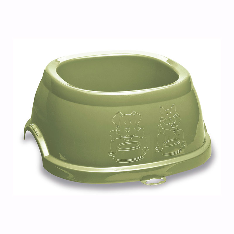 Antiskid Plastic Feeding Bowl for Dogs and Cats