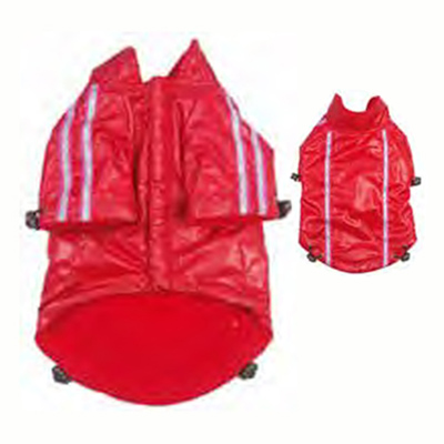 Novak Raincoat Red for Dogs