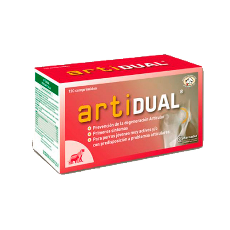Artidual 120 tablets, Chondroprotector for Dogs and Cats