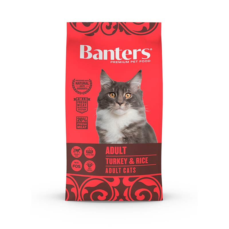 Banters Cat Adult Turkey & Rice