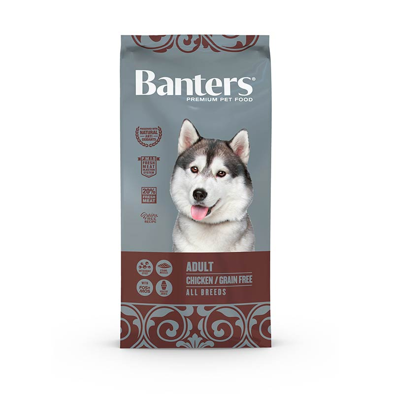 Banters Grain Free Adulto Pollo All Breeds