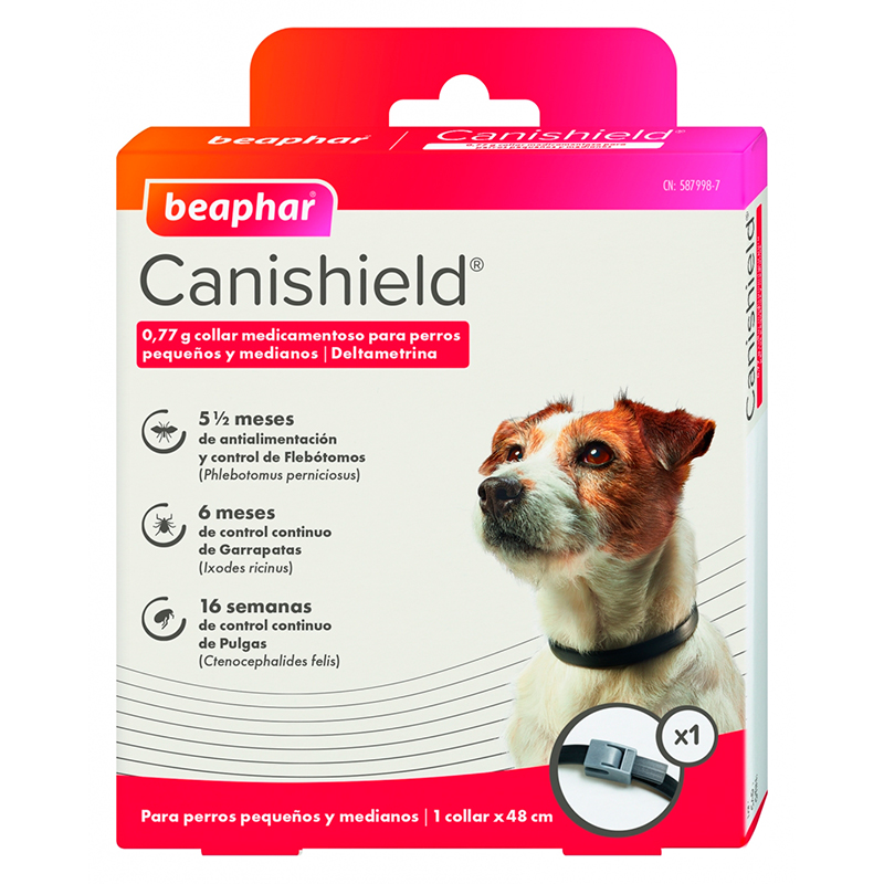 Canishield Beaphar Antiparasitic Collar 48 cm
