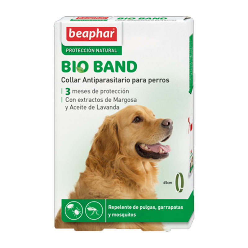 Beaphar Repellent collar with neem extract Bio Band for dog