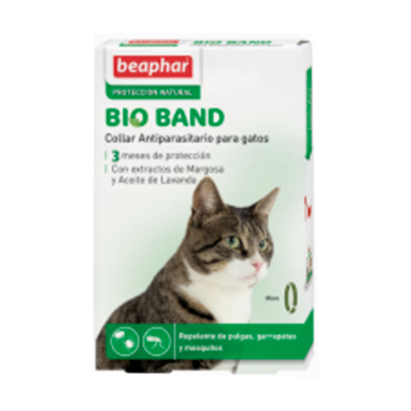 Beaphar Repulsive necklace Band Bio with Margosa Extract Cat