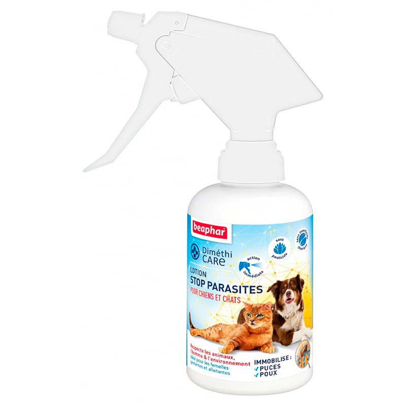 Beaphar Dimethicare Spray Antiparasitario