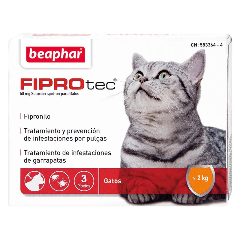 Antiparasitario Externo Beaphar Fiprotec Spot-on para Gatos