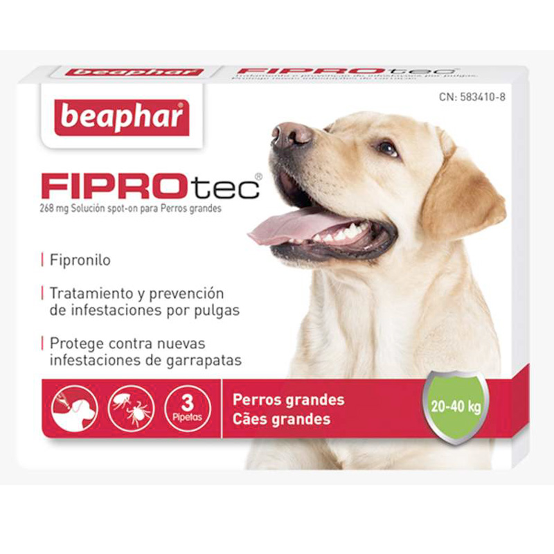 External Antiparasitic Beaphar FiproTec Large dog 20-40kg