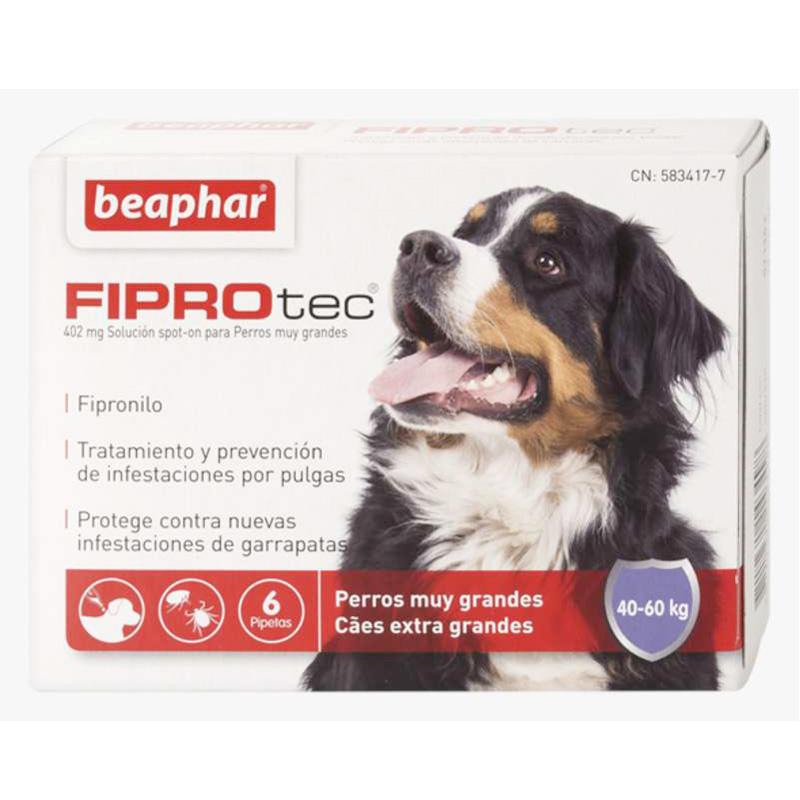 Antiparasitario Externo Beaphar FiproTec perro muy grande 40-60kg