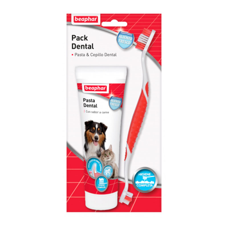 Beaphar Pack Dental: Pasta Dental y Cepillo