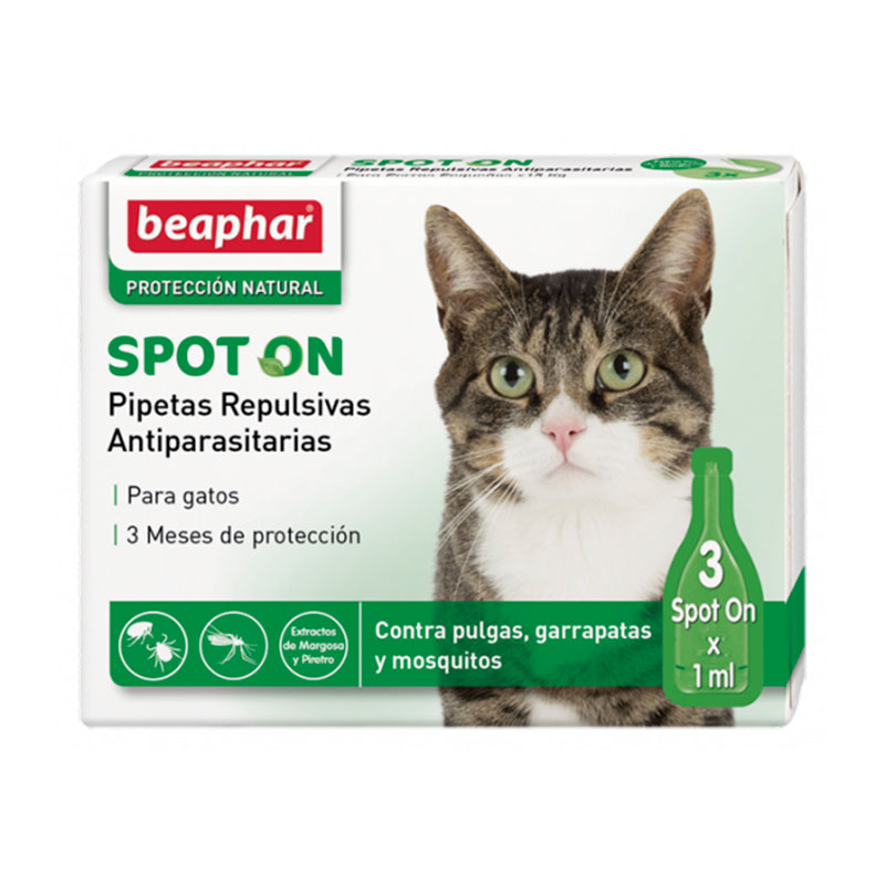 Beaphar Repulsive antiparasitic Spot on for cats