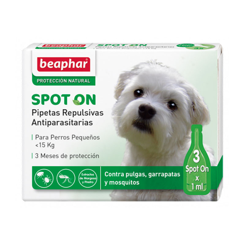 Beaphar Repulsive antiparasitic Spot on for Small Dogs <15 kg