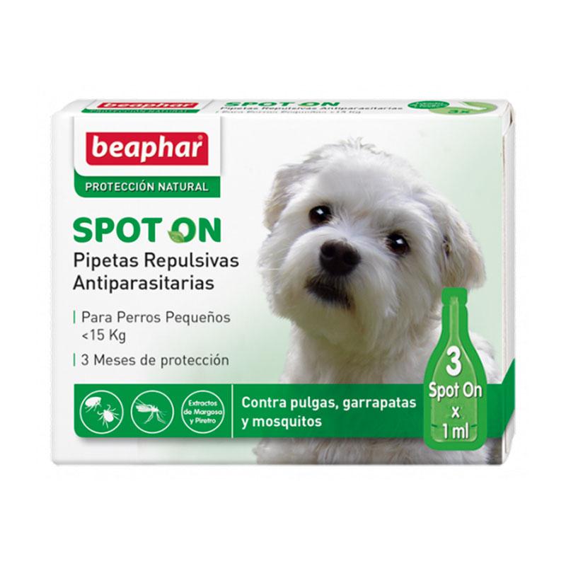 Beaphar Pipetas Repulsivas Antiparasitarias para Perros Pequeños <15 kg
