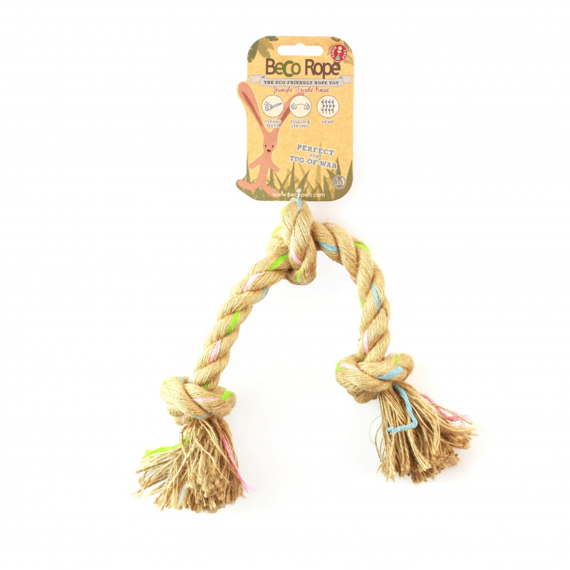BecoRop 3 nudos Toy for Dog