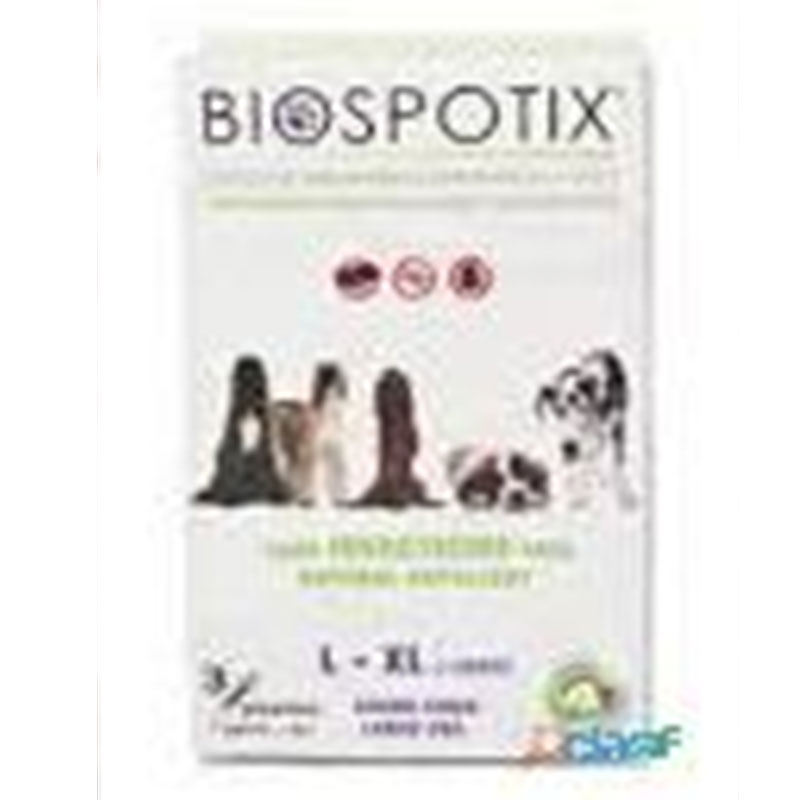 Biogance Natural Pipettes Biospotix Dog L/XL