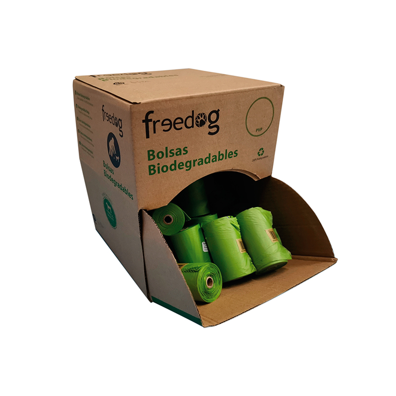 Freedog Biodegradable Bags Holder Replacement Bags 15 Individual Bags