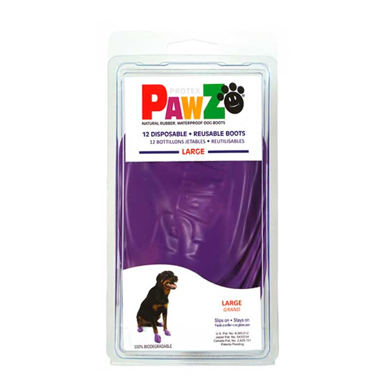 Pawz Dog Boots for Purple Dogs