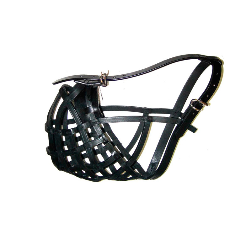 Leather Muzzle Budapest Black
