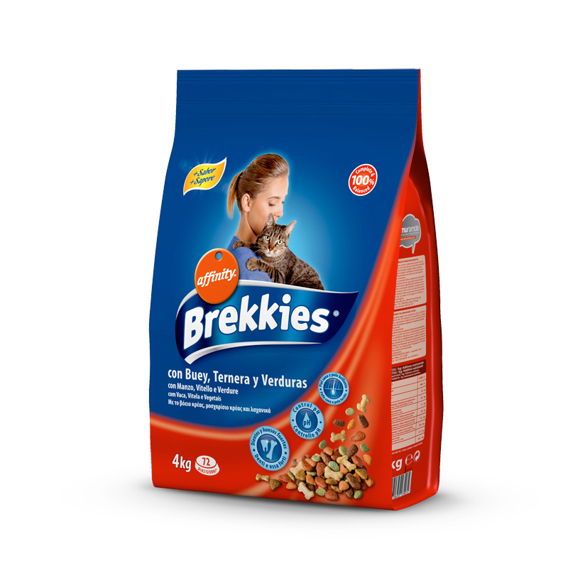 Affinity Brekkies Cat Mix Beef