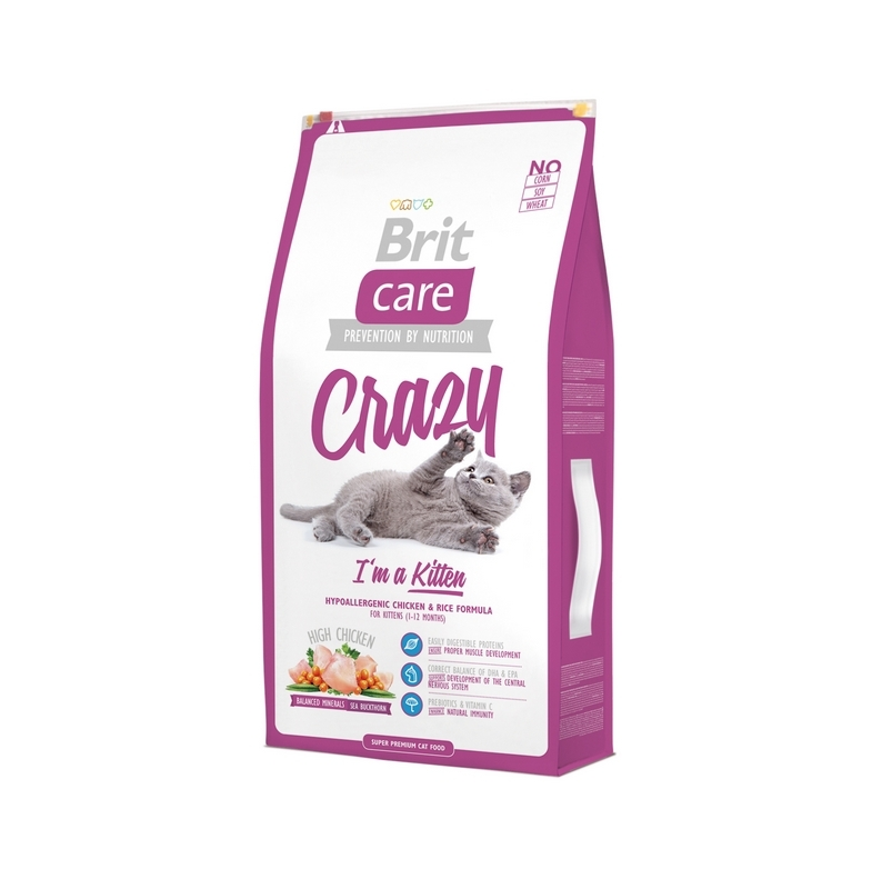 Brit Care Crazy Kitten for Cats