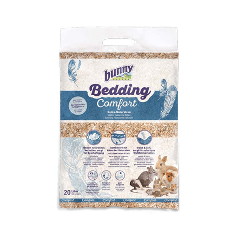 Bunny Bedding Comfort natural litter for rodents – 20 l