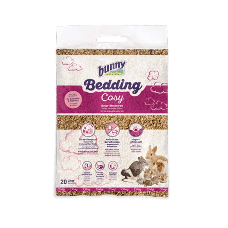 Bunny Bedding Cosy Straw litter – 20 L
