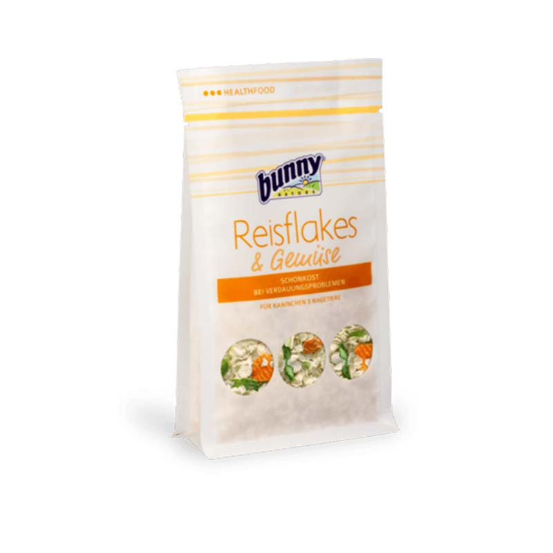 Bunny Rice Flakes & Vegetables (Digestive problems)