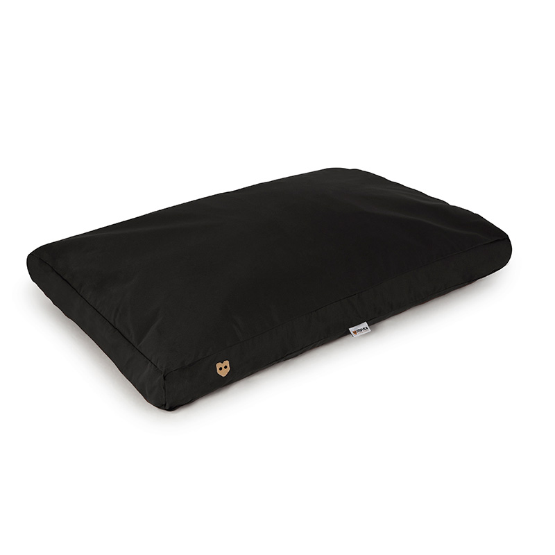Rectangular Bed Smooth Black