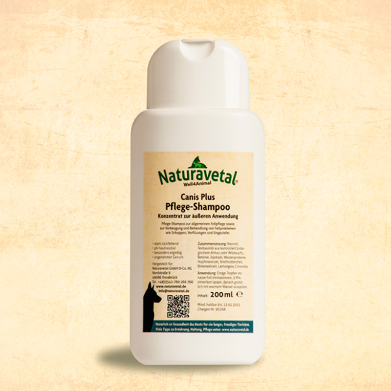 Naturavetal Extra Dog Antiparasitic Shampoo
