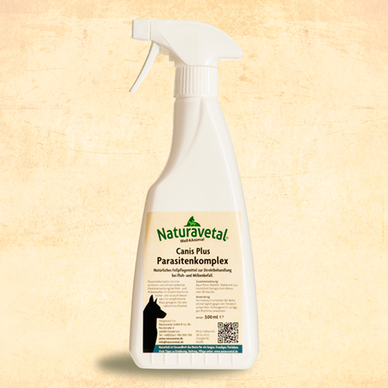 Naturavetal Extra Spray Antiparasitic for Dogs